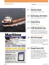 Marine News Magazine, page 2,  Jan 2011 Otto Candies