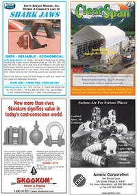 Marine News Magazine, page 39,  Jan 2011 rugged and dependable equipment