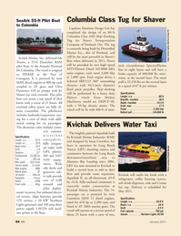Marine News Magazine, page 44,  Jan 2011 Spectra