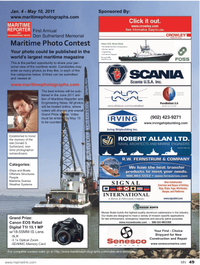 Marine News Magazine, page 49,  Jan 2011 maritime magazine