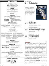 Marine News Magazine, page 4,  Jan 2011