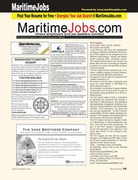 Marine News Magazine, page 59,  Jan 2011 Massachusetts state university