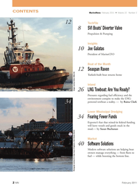 Marine News Magazine, page 2,  Feb 2011
