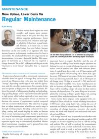 Marine News Magazine, page 18,  Mar 2011 regular oil sampling