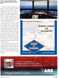 Marine News Magazine, page 31,  Mar 2011 Raina Clark