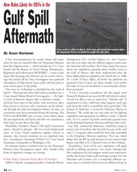 Marine News Magazine, page 34,  Mar 2011 Christoper O