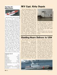 Marine News Magazine, page 44,  Mar 2011 Florida