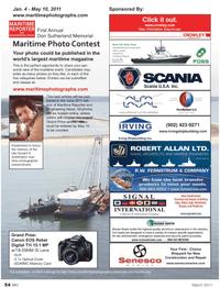 Marine News Magazine, page 54,  Mar 2011 maritime magazine