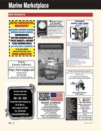 Marine News Magazine, page 62,  Mar 2011 PSI Pressure Wash Systems