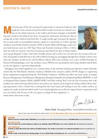 Marine News Magazine, page 6,  Mar 2011 Kathleen Hickey