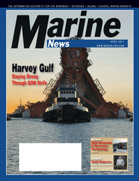 Marine News Magazine Cover Apr 2011 - Offshore Energy Edition