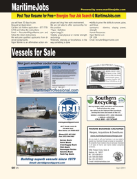 Marine News Magazine, page 3rd Cover,  Apr 2011