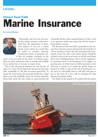 Marine News Magazine, page 18,  May 2011 maritime law