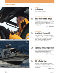 Marine News Magazine, page 2,  May 2011 Raina Clark