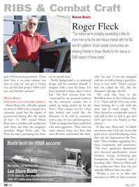 Marine News Magazine, page 38,  May 2011 Moose Boats Inc.