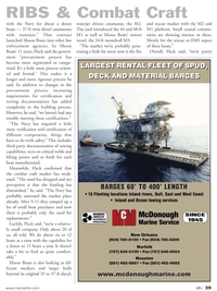 Marine News Magazine, page 39,  May 2011 Navy