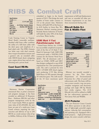 Marine News Magazine, page 44,  May 2011 New Jersey