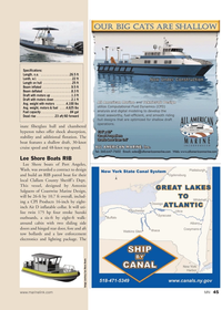 Marine News Magazine, page 45,  May 2011 inate fiberglass hull