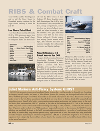 Marine News Magazine, page 46,  May 2011 Swiftsure 17