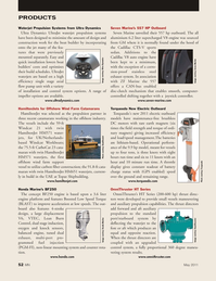 Marine News Magazine, page 52,  May 2011 Cadillac V8