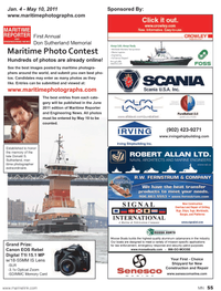Marine News Magazine, page 55,  May 2011 Canon