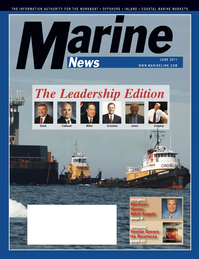 Marine News Magazine Cover Jun 2011 - CEO Six-Pack: The Leadership Edition