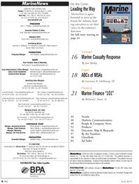 Marine News Magazine, page 4,  Jun 2011