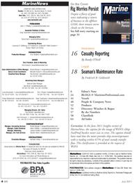 Marine News Magazine, page 4,  Jul 2011