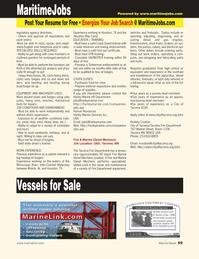 Marine News Magazine, page 59,  Jul 2011 rcroston@cityoftacoma.org Web