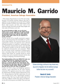 Marine News Magazine, page 8,  Aug 2011 salvage response infrastructure