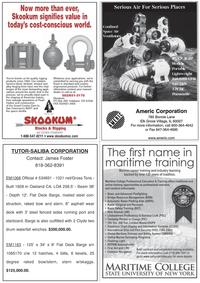 Marine News Magazine, page 15,  Aug 2011 James Foster