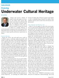 Marine News Magazine, page 16,  Aug 2011 United Nations