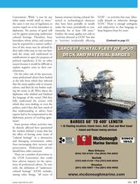 Marine News Magazine, page 17,  Aug 2011 West Coast