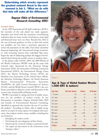 Marine News Magazine, page 25,  Aug 2011 Environmental Research Consulting
