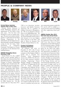 Marine News Magazine, page 36,  Aug 2011 Pennsylvania