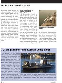 Marine News Magazine, page 38,  Aug 2011 Hansen Clarke