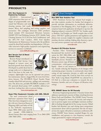 Marine News Magazine, page 40,  Aug 2011 data analytics product