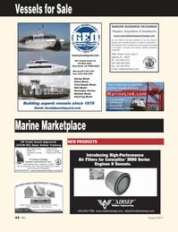 Marine News Magazine, page 44,  Aug 2011 Harbor Call