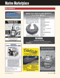 Marine News Magazine, page 45,  Aug 2011 metal plates