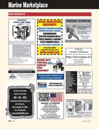 Marine News Magazine, page 46,  Aug 2011