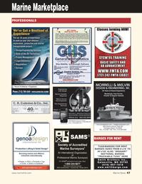 Marine News Magazine, page 47,  Aug 2011