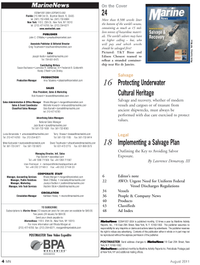 Marine News Magazine, page 4,  Aug 2011 Jim Shirley