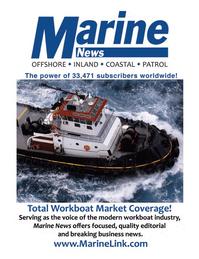 Marine News Magazine, page 3rd Cover,  Sep 2011