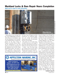 Marine News Magazine, page 32,  Oct 2011 Army Corps of Engineer Louisville District