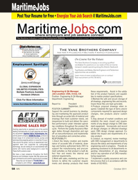 Marine News Magazine, page 58,  Oct 2011 Engineering & QA Manager Department
