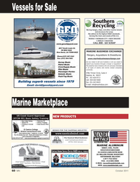 Marine News Magazine, page 60,  Oct 2011 Harbor Call