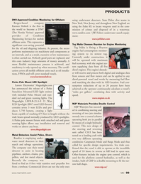 Marine News Magazine, page 99,  Nov 2011 New York