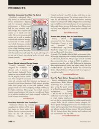 Marine News Magazine, page 100,  Nov 2011 316L stainless steel