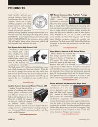 Marine News Magazine, page 102,  Nov 2011 Internet connection