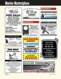 Marine News Magazine, page 108,  Nov 2011 Harbor Call